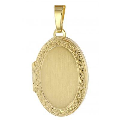 trendor 75985 Medaillon Anhänger 333 Gold (8 Karat) 4260641759859