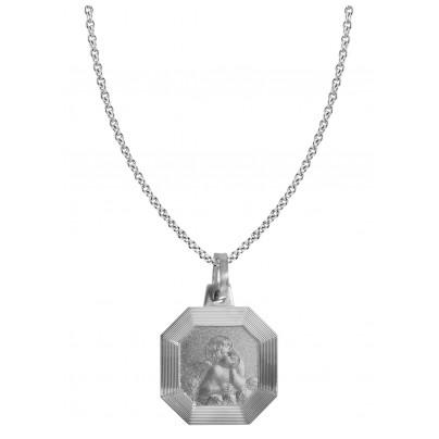 trendor 87547 Silberkette mit Amor 4260266587547
