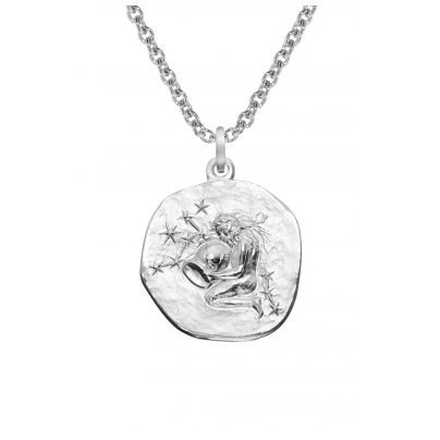trendor 08442 Sternzeichen Wassermann mit Halskette Silber 925