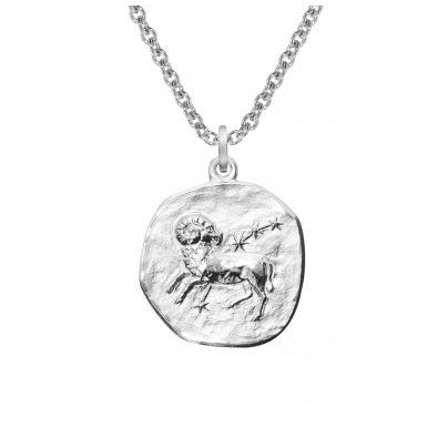 trendor 08444 Sternzeichen Widder mit Halskette Silber 925