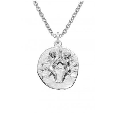 trendor 08446 Sternzeichen Zwilling mit Halskette Silber 925 4260497084464