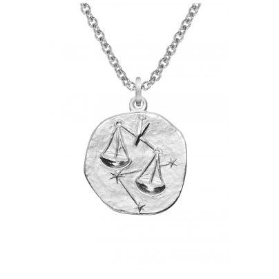trendor 08450 Sternzeichen Waage mit Halskette Silber 925