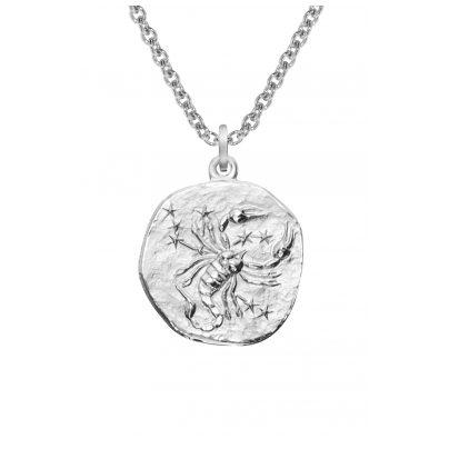 trendor 08451 Sternzeichen Skorpion mit Halskette Silber 925