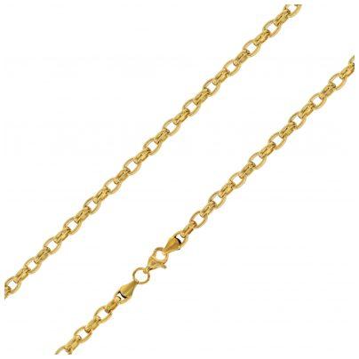 trendor 75887 Halskette für Frauen Gold auf Edelstahl Erbskette 40 cm 4260641758876