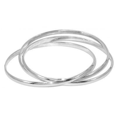 trendor 08759 Armreif Dreier-Armband 925 Sterlingsilber 4260497087595