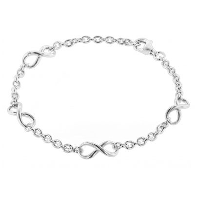 trendor 08762 Silver Bracelet Infinity 4260497087625