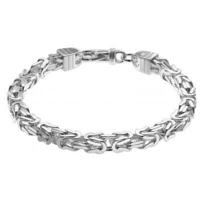 trendor 08797 Herren-Armband 925 Sterlingsilber Königskette 7,1 mm breit 4260497087977