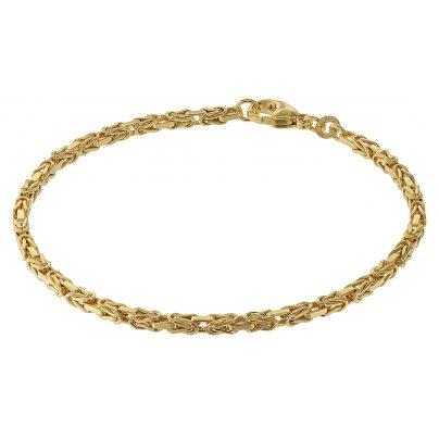 trendor 75296 Armband für Damen Königskette Gold 333 (8 Karat) 4260641752966