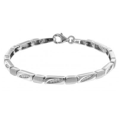 trendor 75589 Armband für Damen Silber 925 Zirkonia 4260641755899