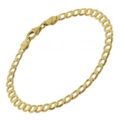 trendor 75653 Ladies' Bracelet Curb Chain Gold 333 (8 Carat) Width 5 mm 4260641756537