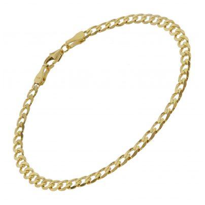 trendor 75654 Damen Panzer-Armband Gold 333 (8 Karat) 19 cm 4260641756544