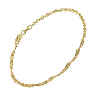 trendor 75664 Armkette für Frauen Silber 925 Vergoldet 4260641756643