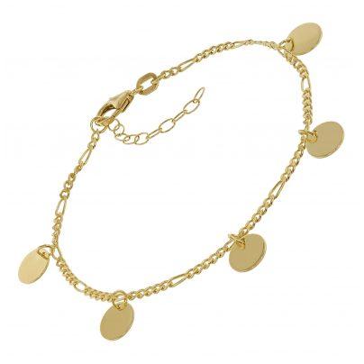 trendor 75671 Armband für Frauen Silber 925 Vergoldet 4260641756711