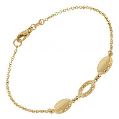 trendor 39013 Damen-Armband Gold 585 (14 Karat) Fantasie 4260684390132