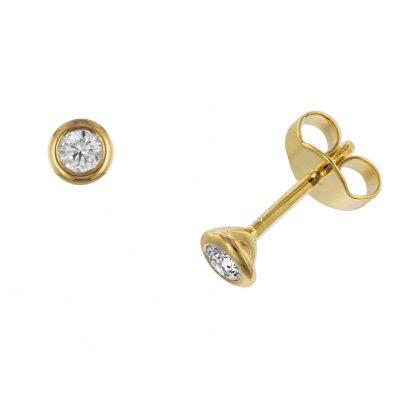 trendor 532644 Ohrringe Diamant 0,20 kt. Gold 585 4006025326442