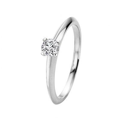 trendor 532660 Diamant-Ring 0,15 kt. Weißgold 585/14K