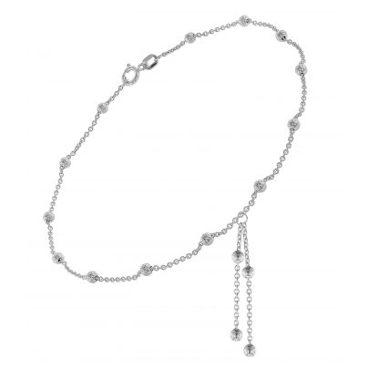 trendor 75656 Anklet with Pendants Silver 925 4260641756568
