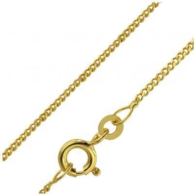 trendor 71958 Halskette für Kinder 333 Gold Länge 38/36 cm Breite 1,4 mm 4260333971958