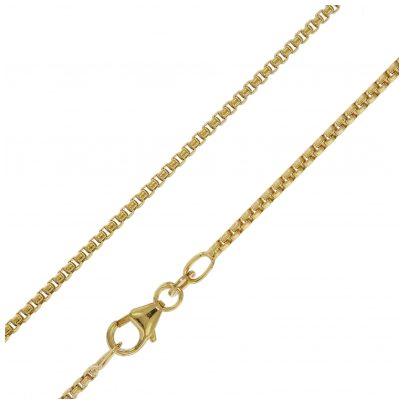 trendor 75155 Halskette für Anhänger 333 Gold 8 Karat Venezia