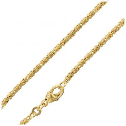 trendor 75238 Halskette Königskette Gold 333 (8 Karat) Stärke 1,8 mm 4260641752386