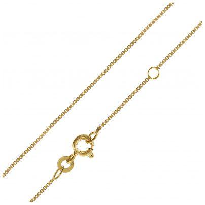 trendor 75619 Kinder-Halskette 333 Gold 38/36 cm Venezianer Kette 4260641756193