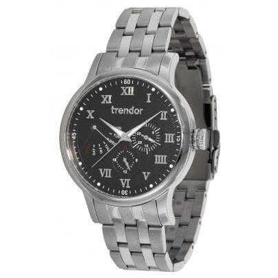 trendor TR204-SB Mens Watch with Multifunction 4260333973709