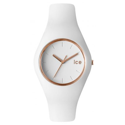 Ice-Watch 000977 Glam White Rose-Gold Watch 4895164008384