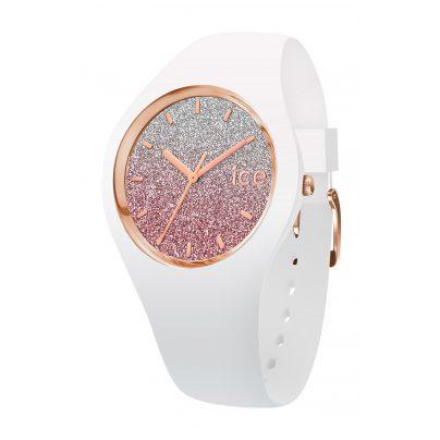 Ice-Watch 013427 Damenuhr Ice Lo Weiß/Pink S 4895164070381