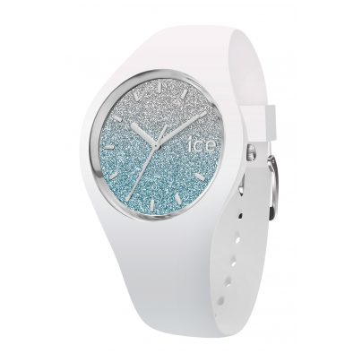 Ice-Watch 013425 Damen-Armbanduhr Ice Lo Weiß/Hellblau S 4895164070367