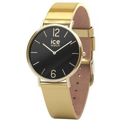 Ice-Watch 015090 Damenarmbanduhr City Sparkling Metal Gold S 4895164080298