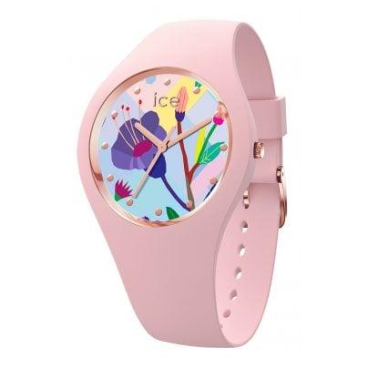 Ice-Watch 016654 Damenuhr Pink Garden S 4895164089284