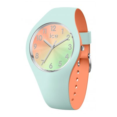 Ice-Watch 016981 Ladies´ Watch Duo Chic Aqua/Coral S 4895164091850
