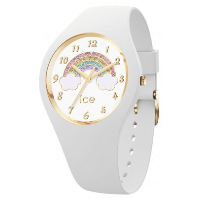 Ice-Watch 017889 Kinderuhr Rainbow ICE fantasia White S Weiß 4895164096497