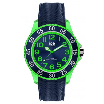 Ice-Watch 017735 Kinder-Armbanduhr ICE cartoon Dino Blau Grün S 4895164096824