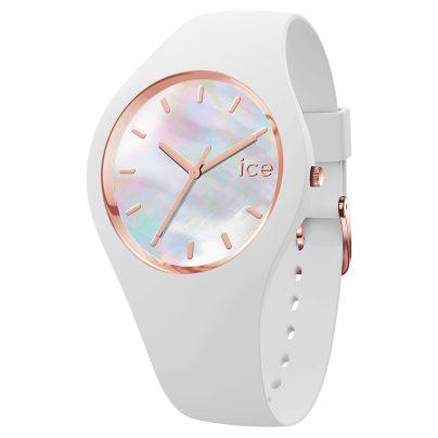Ice-Watch 016935 Damenuhr ICE pearl Weiß S 4895164091027