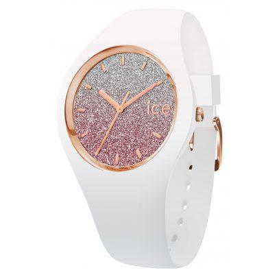 Ice-Watch 013431 Armbanduhr Ice Lo Weiß/Pink M 4895164070428