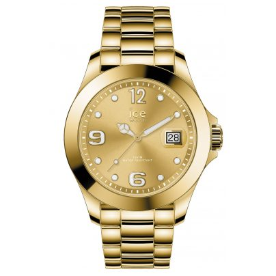 Ice-Watch 016777 Damen-Armbanduhr Ice Steel Gold Shiny M 4895164090037
