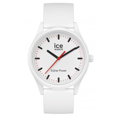 Ice-Watch 017761 Solar-Armbanduhr Polar M Weiß 4895164095728