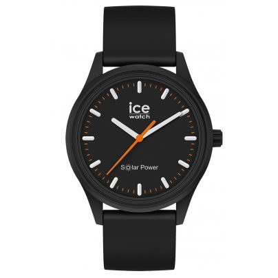 Ice-Watch 017764 Solar-Armbanduhr Rock M Schwarz 4895164095759