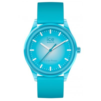 Ice-Watch 017769 Wristwatch Solar Blue Planet M Turquoise 4895164095803
