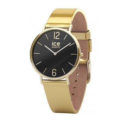 Ice-Watch 015084 Damenuhr City Sparkling Metal Gold XS 4895164080236