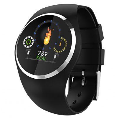 Atlanta 9703/7 Smartwatch mit Touchdisplay Schwarz 4026934970376