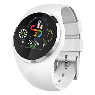 Atlanta 9703/0 Smartwatch with Touch Display White 4026934970307
