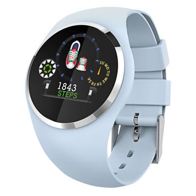 Atlanta 9703/5 Smartwatch with Touch Display Blue 4026934970352