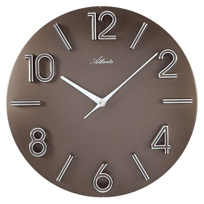 Atlanta 4397/3 Design-Wall Clock 4026934439736