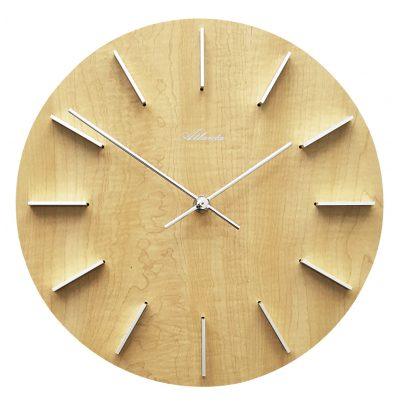 Atlanta 4419/30 Quartz Wall Clock Alder 4026934441937