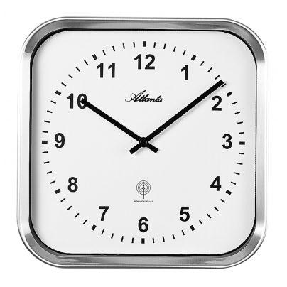 Atlanta 4384/0 Radio-Controlled Wall Clock 4026934438401