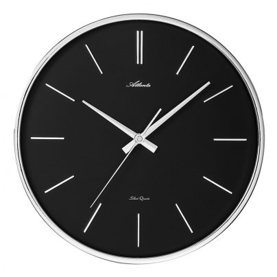 Atlanta 4456/19 Quartz Wall Clock with Silent Movement 4026934445621