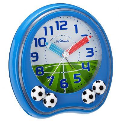 Atlanta 1719/5 Kinder-Wecker Fußball 4026934171957