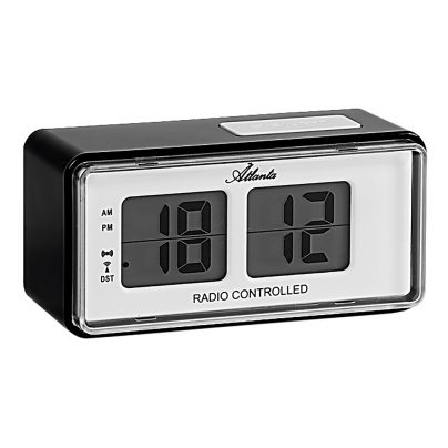 Atlanta 1881/7 RC Alarm Clock with Retro Design 4026934188177
